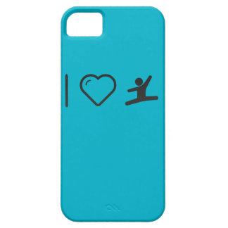 I Heart Gymnast Hurdles iPhone 5 Covers