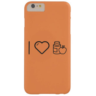 I Heart Gymnast Vitamins Barely There iPhone 6 Plus Case