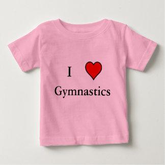 I Heart Gymnastics Baby T-Shirt