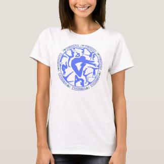 I Heart Gymnastics - Blue T-Shirt