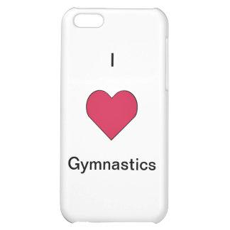 I Heart Gymnastics (Customizable) iPhone 5C Cover