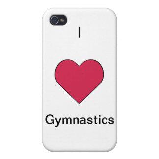 I Heart Gymnastics iPhone 4/4S Cover