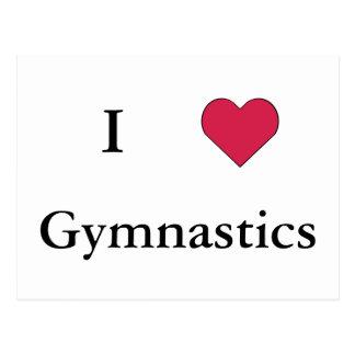 I Heart Gymnastics Postcard