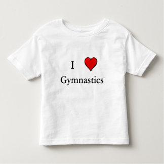 I Heart Gymnastics Toddler T-shirt