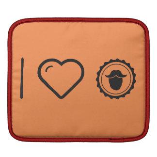 I Heart Hair Males Sleeve For iPads