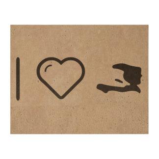 I Heart Haitis Photo Cork Paper