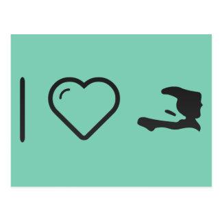 I Heart Haitis Postcard
