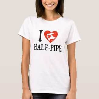I Heart Half Pipe T-Shirt