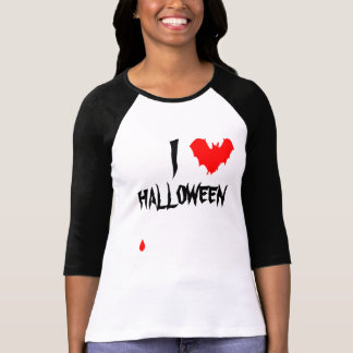 I Heart Halloween Funny chic and unique custom T-Shirt