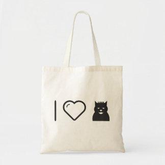 I Heart Halloween Monsters Budget Tote Bag