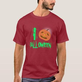 I Heart Halloween Pumpkin T-Shirt