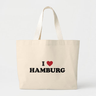 i Heart Hamburg Germany Bags