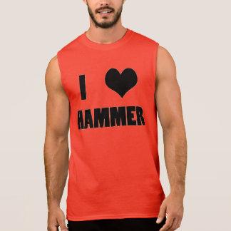 I Heart Hammer, Hammer Throw Tank Top