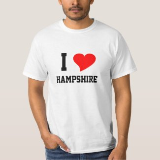 I Heart Hampshire T-Shirt