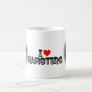 I (heart) hamsters coffee mug