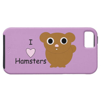 I Heart Hamsters iPhone SE/5/5s Case