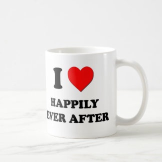 I Heart Happily Ever After Mugs