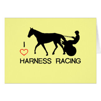 I Heart Harness Racing Card