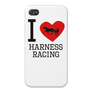 I Heart Harness Racing iPhone 4/4S Covers
