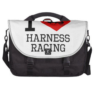 I Heart Harness Racing Bag For Laptop