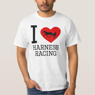 I Heart Harness Racing T Shirt