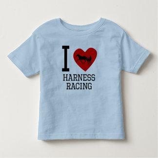 I Heart Harness Racing Toddler T-shirt