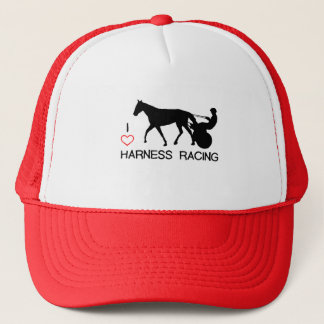 I Heart Harness Racing Trucker Hat