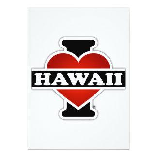 I Heart Hawaii Card
