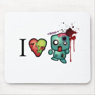 I Heart Headshots Mouse Pad