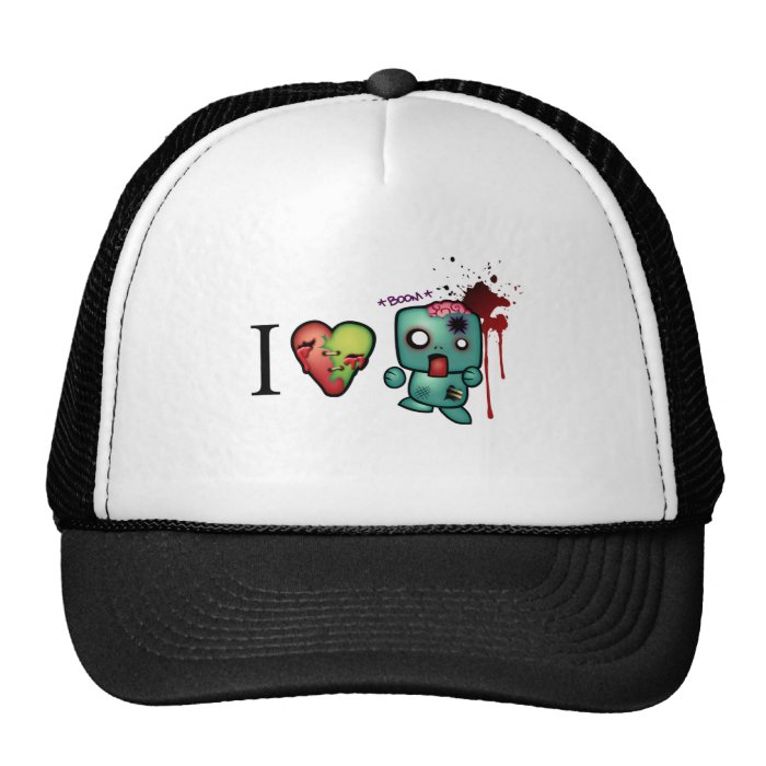 I Heart Headshots Trucker Hat