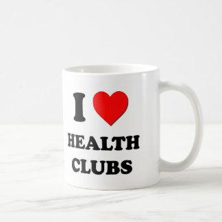 I Heart Health Clubs Coffee Mugs