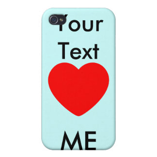 I heart , heart me cases for iPhone 4