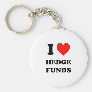 I Heart Hedge Funds Keychain