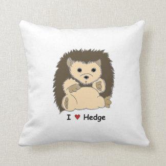 I Heart Hedge Pillow :)