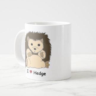 I Heart HedgeHog Jumbo Mug