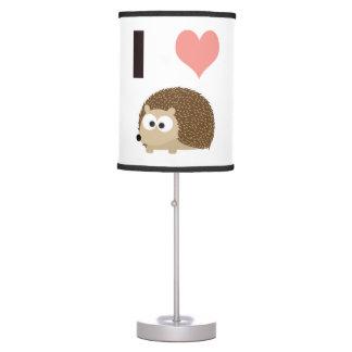 I heart Hedgehogs Desk Lamp
