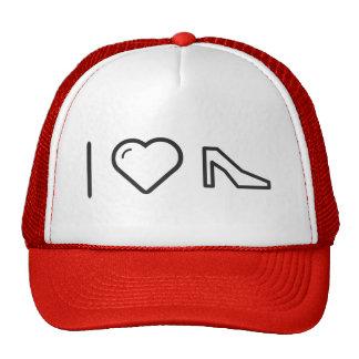 I Heart Heels Trucker Hat