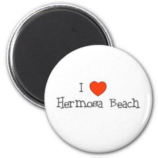 I Heart Hermosa Beach Magnet