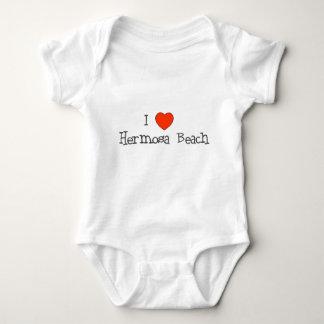 I Heart Hermosa Beach Tee Shirt