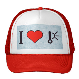 I Heart High Temperature Trucker Hat