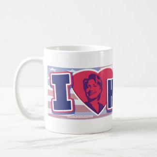 I Heart Hillary 2008 Mug