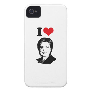 I HEART HILLARY CLINTON 2016 -.png iPhone 4 Case-Mate Cases