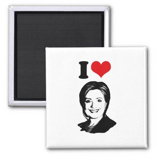 I HEART HILLARY CLINTON 2016 -.png Magnet