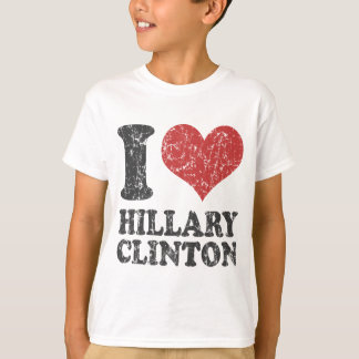 I heart Hillary Clinton Retro T-Shirt