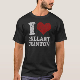 I heart Hillary Clinton T-Shirt