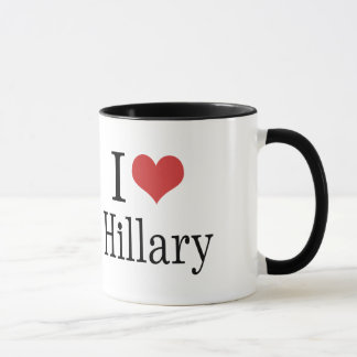 I Heart Hillary Mug