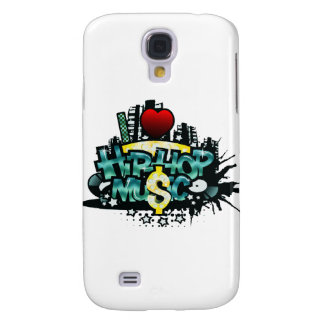 I Heart Hip Hop Music Galaxy S4 Cover