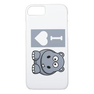 I Heart Hippos Phone Case