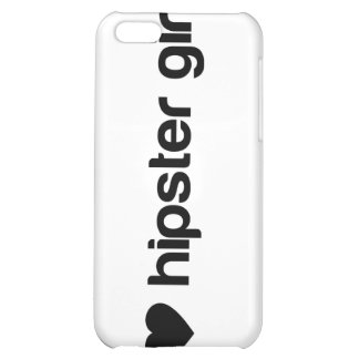 I (heart) hipster girls iPhone 5C cases