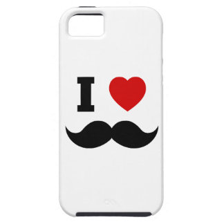 I Heart Hipster Mustache iPhone SE/5/5s Case